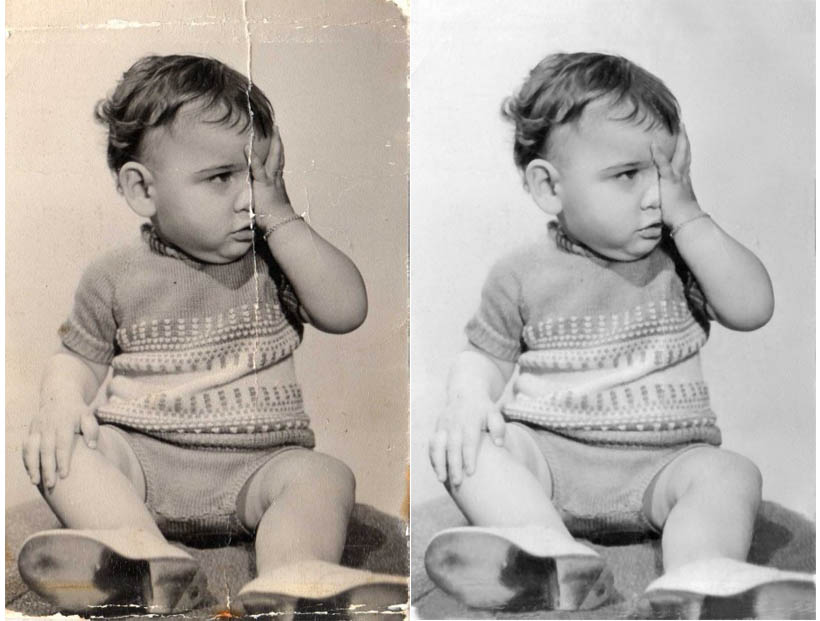 photo repair and restoration image