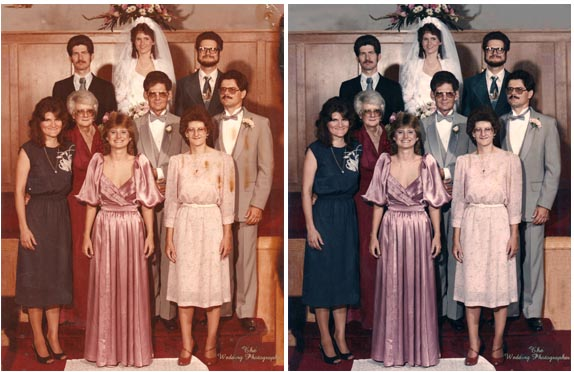 photo repair and restoration photograph